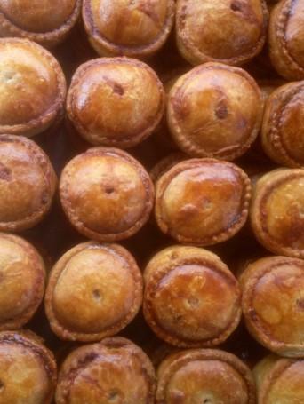 Wark Farm homemade pies for farmers markets in Royal Deeside Aberdeenshire