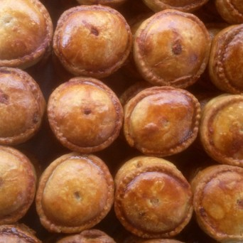 Wark Farm homemade pies for farmers markets in Royal Deeside Aberdeenshire